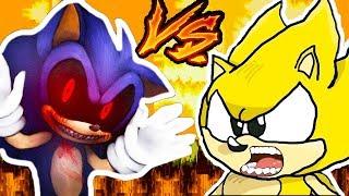 СОНИК.EXE VS СУПЕР СОНИК ! МЕГА СУПЕР БИТВА ! - Sonic.Exe: Sark's Beginning