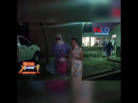 VIDEO: Trasladan al hospital ancianos del asilo de Cotuí con síntomas de COVID-19.