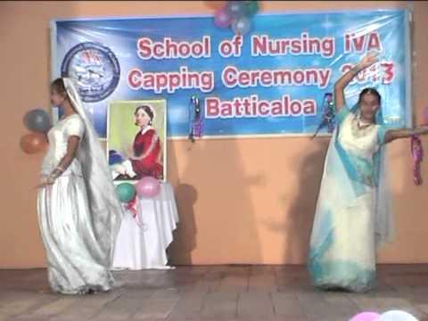 Sri Lanka School of nursing iva  - Capping Ceremony (Batticaloa) Cilp 1