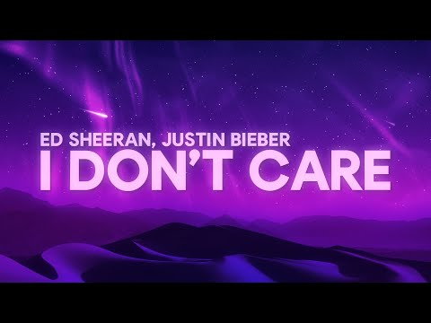 Ed Sheeran Justin Bieber - I Don&39;t Care