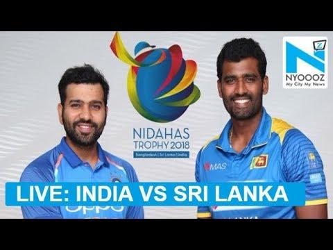 LIVE India vs Sri Lanka, 1st T20I Cricket Score  | IndvsSL T20 | NYOOOZ UP