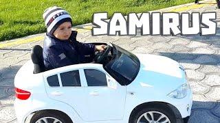 Samirus - Электронная машинка, катаемся на машинке в торговом центре BABY HOLL