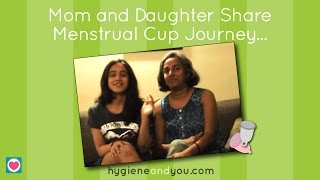 Mom and Daughter Talk About Menstrual Cup Journey | Hygiene and You