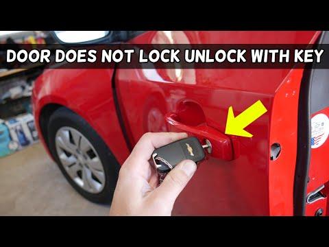 Chevrolet Cruze Front Door Does Not Lock Unlock With Key Fix Youtube