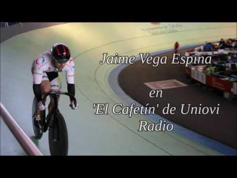 Jaime Vega en Uniovi Radio.