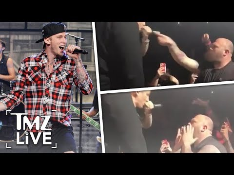 Machine Gun Kelly: Heated Fan Confrontation | TMZ Live
