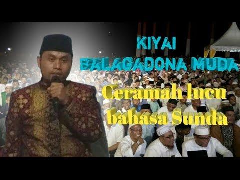 Ceramah Sunda kiyai Balagadona muda lucu