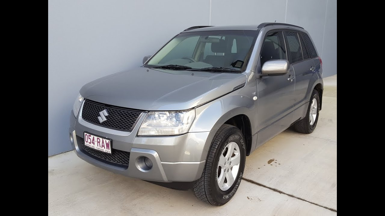 sold 2006 suzuki grand vitara review automatic 4x4 wagon. Black Bedroom Furniture Sets. Home Design Ideas
