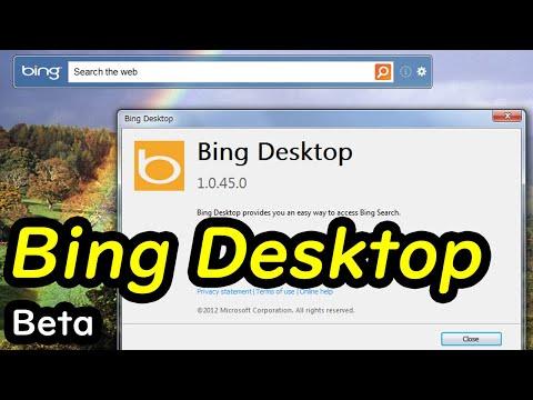 Bing Desktop Beta (ビング デスクトップ ベータ)