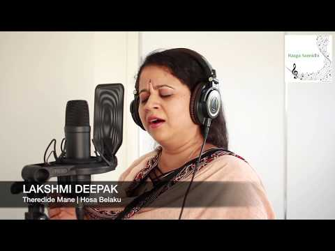 Theredide Mane O Baa Athithi (Cover)   Hosabelaku   Lakshmi Deepak   Raaga Sannidhi