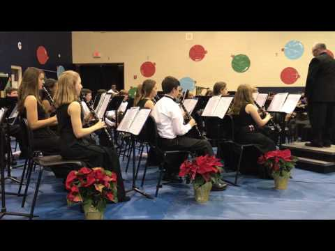 "Mauldin Middle School Winter Concert ""Wind Ensamble"""