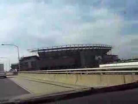 Driving by the Lincoln Financial Field on I-95 EAGLES