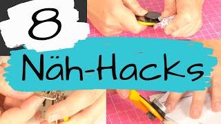 8 Näh-Hacks im Test - Einfache Nähtipps die jeder kennen sollte?!