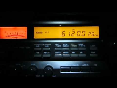 612 Khz, Radio Liberty via Baltic Waves, Lithuania