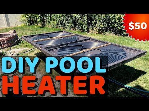 DIY Pool Heater – $50 Solar Heater