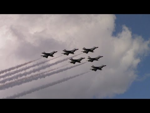 USAF Thunderbirds 2016 Shaw Air Expo