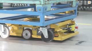 BMW: neues Fahrerloses Transportsystem in der Logistik