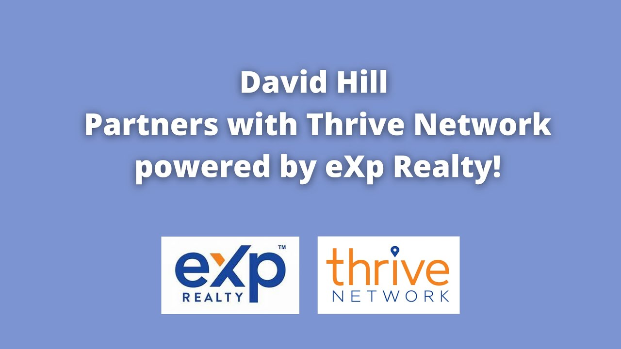 Real Estate Author, Podcaster & Production Ninja, David Hill, Partners with Thrive Network & eXp!