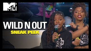 Chloe x Halle's Beyoncé Connection Makes Them Very Popular 💍 | Wild 'N Out | MTV