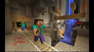 Going Mining in MINECRAFT!!!!