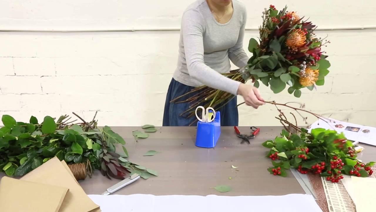 How to arrange native flower bouquet youtube izmirmasajfo