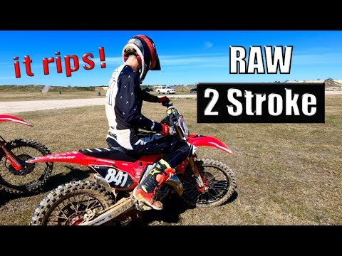 CR125 Wide Open at Florida Tracks and Trails!