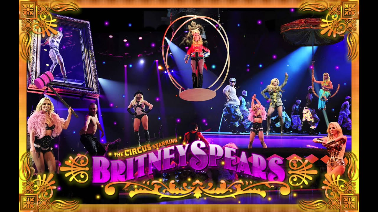 intro circus britney spears circus tour official