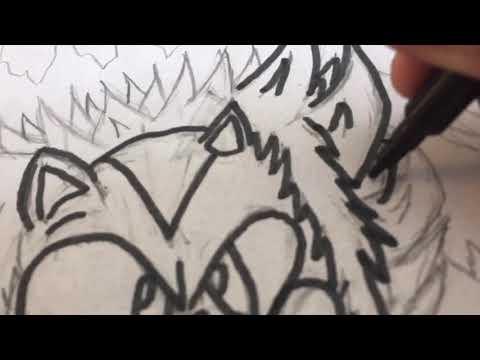 Art Mania!-My ideal design for Modern Hyper Sonic!