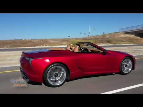 2021 Lexus LC 500 Convertible Review by Bruce Hotchkiss