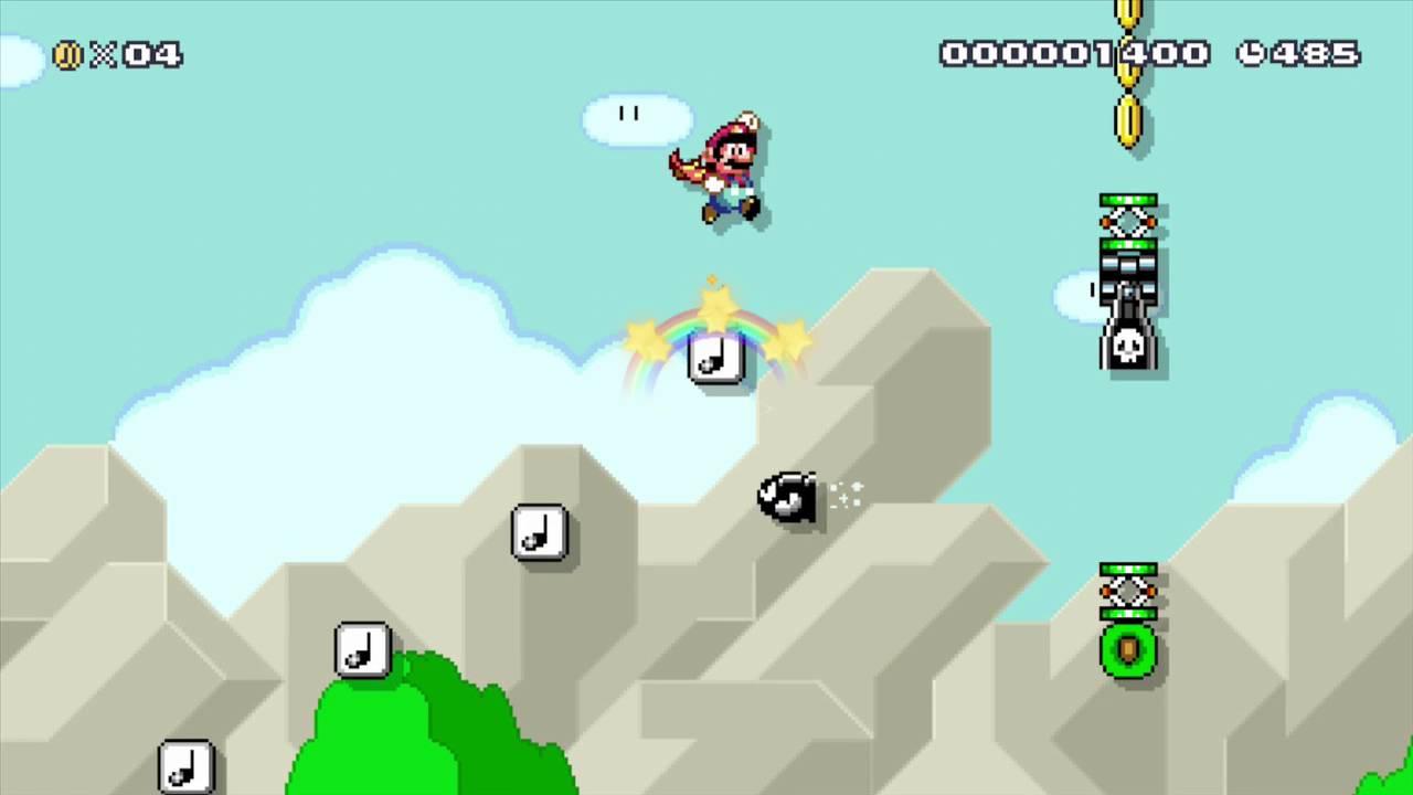 Super Mario Maker Bookmarks #2 - Yoshi Defecates powerups