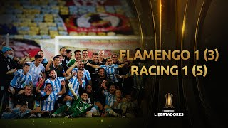 Flamengo vs. Racing Club [1-1] (3-5) | RESUMEN | Octavos de Final | CONMEBOL Libertadores