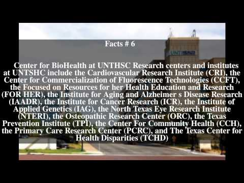 University of North Texas Health Science Center Top # 12 Facts