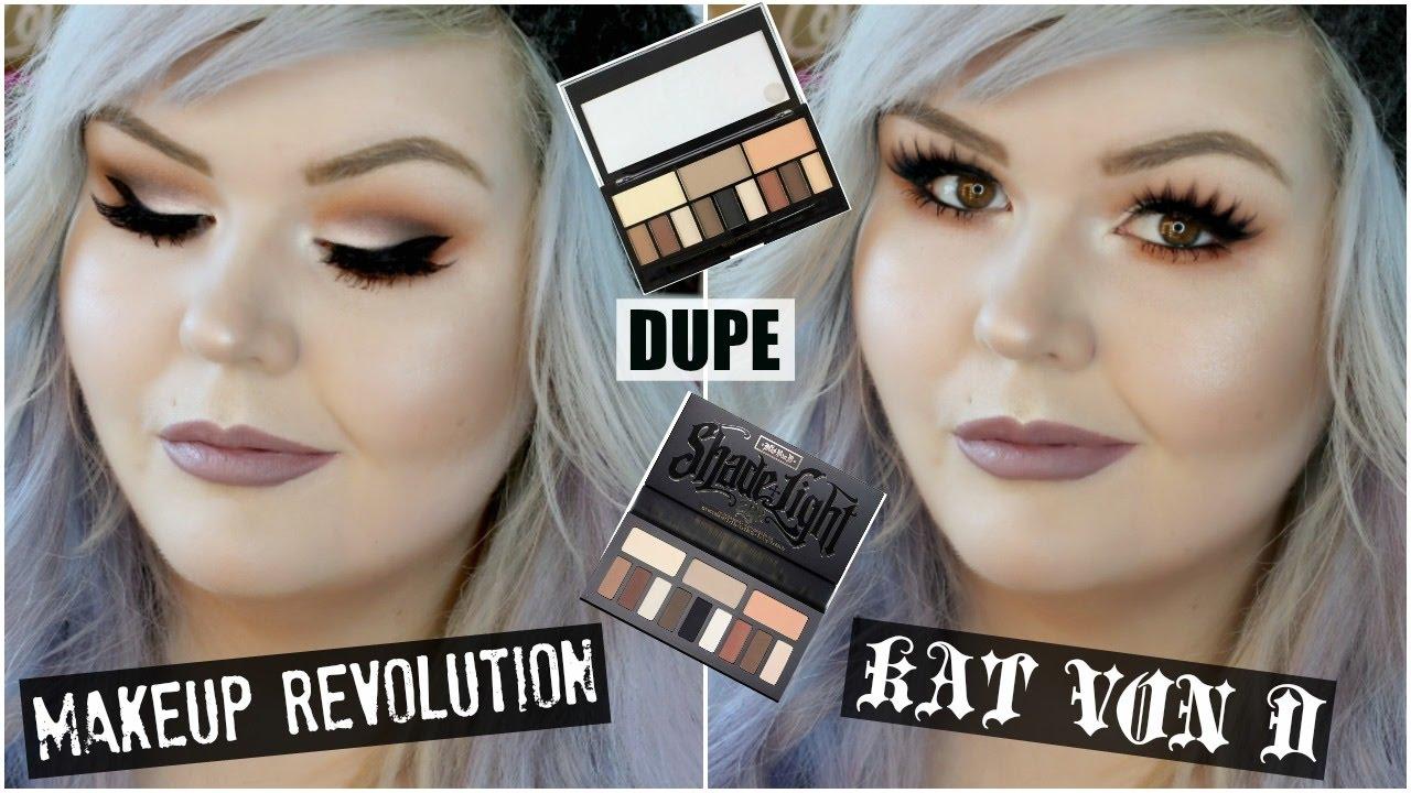Makeup revolution kat von d