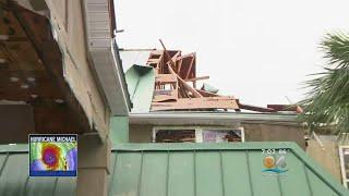 Damage Throughout Florida Panhandle Following Impact Of Hurricane Michael