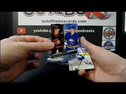 Out Of The Box Group Break #8694 20-21 UD SERIES TWO HALF CASE TEAM RANDOM