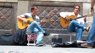 Игра на гитаре крутяк