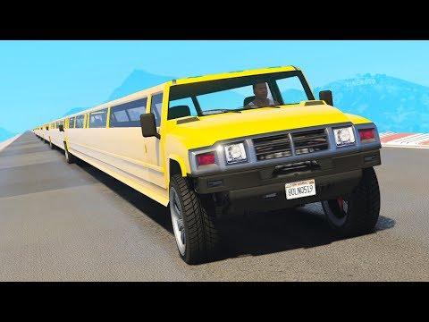 DAS LÄNGSTE AUTO der WELT in GTA 5 !!