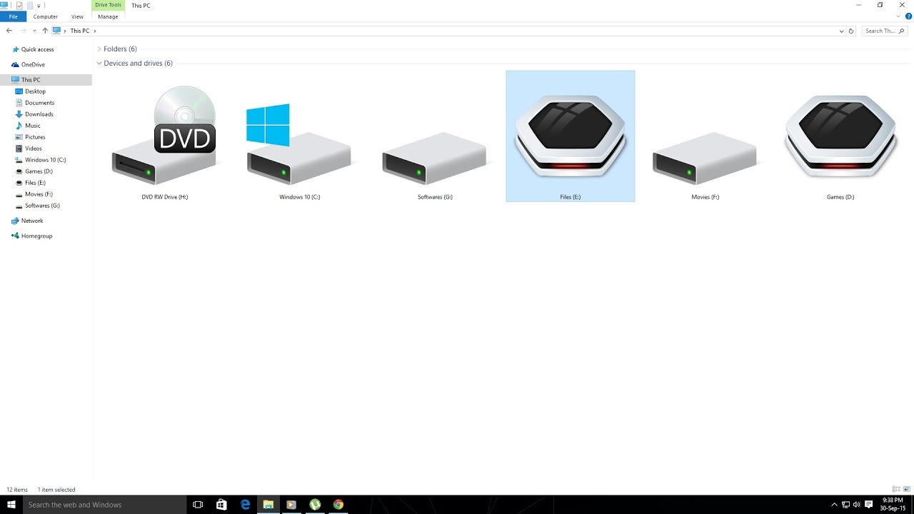 How to change Hard drive and Usb drive icon and label