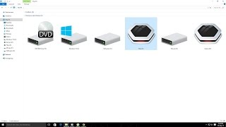 How to change Hard drive and Usb drive icon and label without any software
