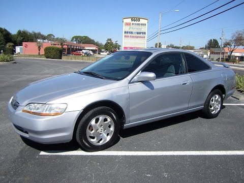 SOLD 1998 Honda Accord EX Coupe VTEC Meticulous Motors Inc Florida For Sale