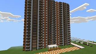 Как построить отель в майнкрафте? Здание отеля. Hotel In Minecraft.