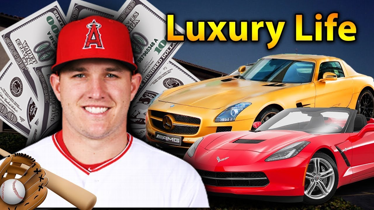 Mike Trout Luxury Lifestyle Bio Family Net Worth Earning House