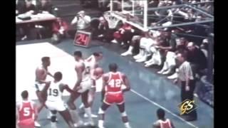 1966 NBA All Star Game Highlights
