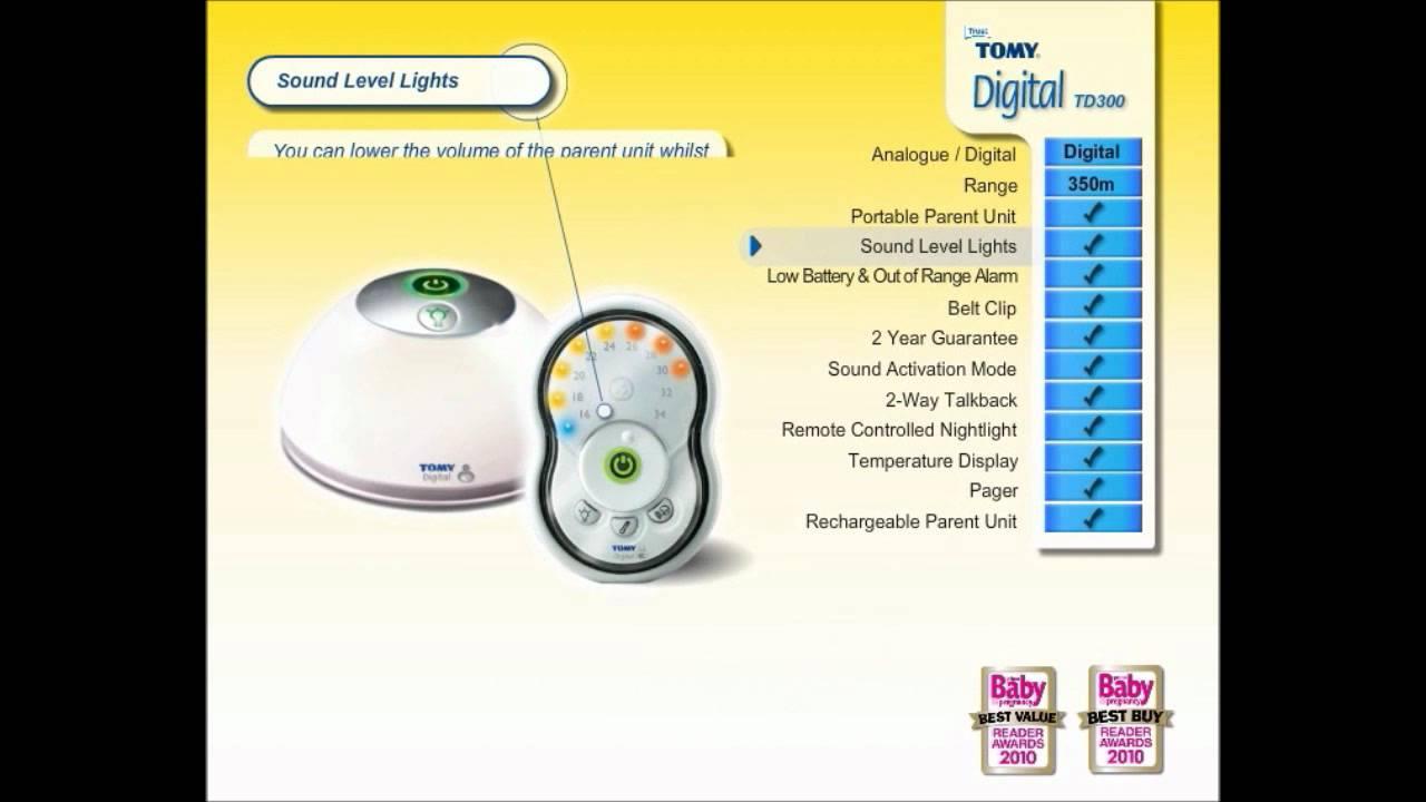 babyphone digital td300