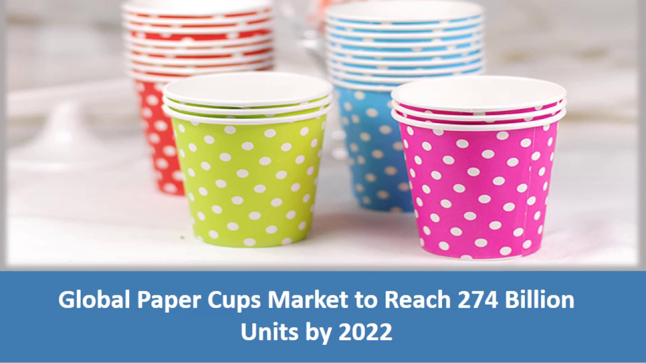 Disposable Paper Cup Market Research Forecast, Regional, Trends and Analysis in 2018-2023