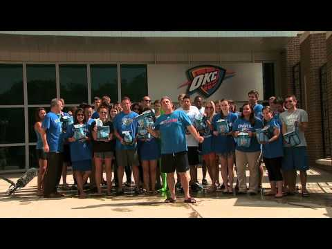 OKC Thunder Sales & Retention - ALS Ice Bucket Challenge