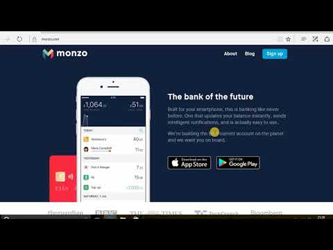 Monzo  New Mobile Banking App UK