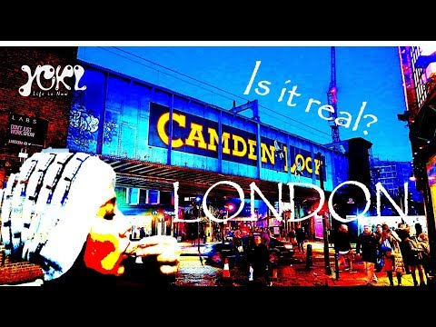 CAMDEN - The Hipster town in LONDON