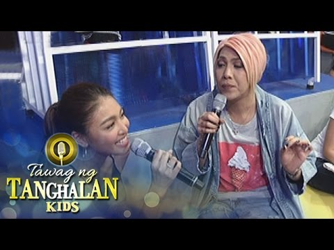 Tawag ng Tanghalan Kids: Vice teaches Nadine how to sing