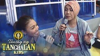 Tawag ng Tanghalan Kids: Vice teaches Nadine how to sing